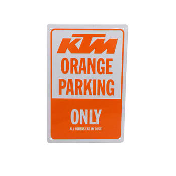 Reserved for KTM Winners Only Metal Sign
