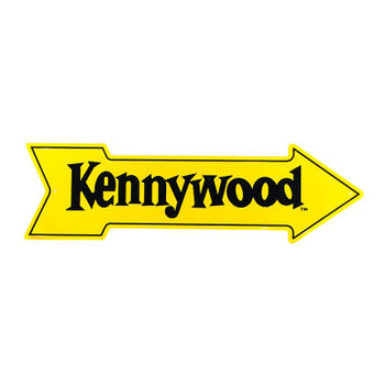 Kenny Wood Customize Metal Aluminum Arrow Sign