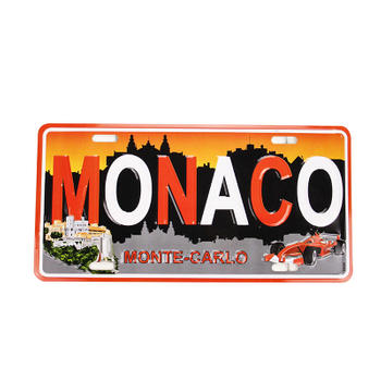 MANACO Personalized Car License Plate